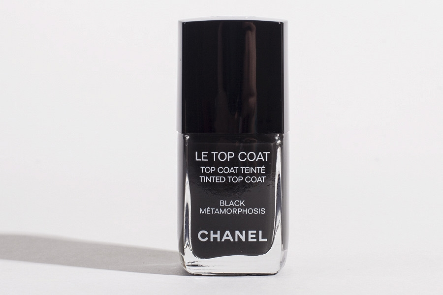 Chanel Le Top Coat Tinted Top Coat in Black Mеtamorphosis