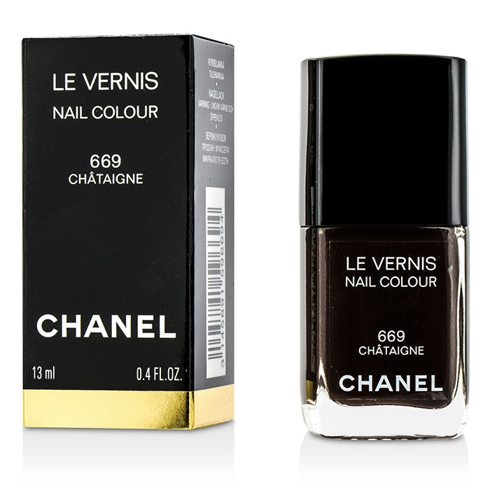 Chanel Le Vernis Nail Colour №669 Chataigne